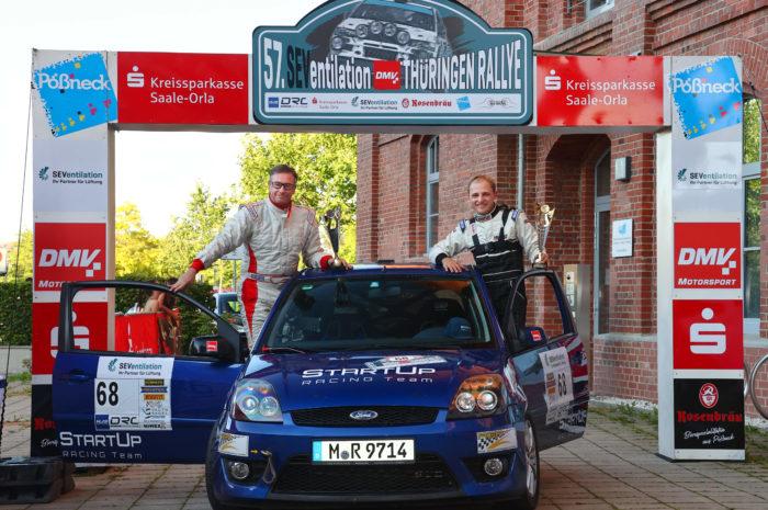 Johannes und Hartmut holen Silber in Thüringen